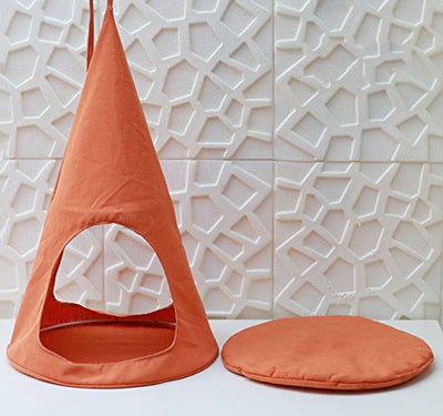 ALXDR Cat Hammock Hanging Bed: Orange