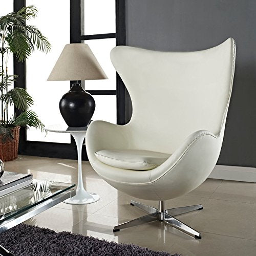 Arne Jacobsen Egg Chair.Arne Jacobsen Egg Chair Italian Leather Hand Sewn Luxury Chair