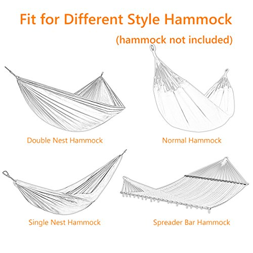Zupapa Hammock Stand Fit For 12 15ft Hammock 2 Person
