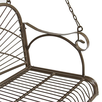 Iron Hanging Porch Swing Chair Bench Seat