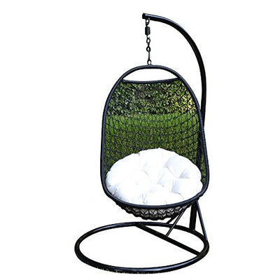 Wicker Rattan Egg Hanging Chair