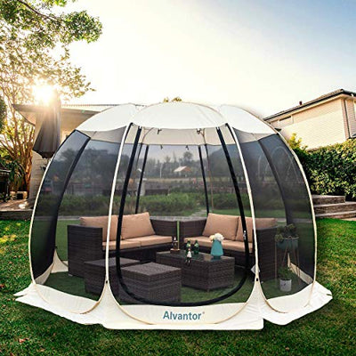 Alvantor Screen House Room Camping Tent Outdoor Canopy Dining Gazebo Pop Up Sun Shade Shelter
