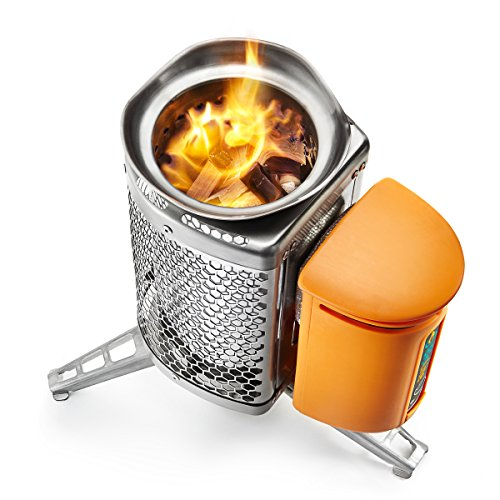 BioLite CampStove Wood Burning and USB Charging Camping Stove (Original Model)