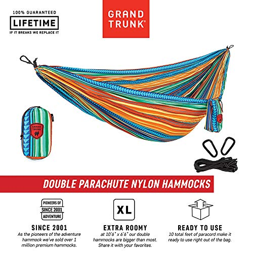 Grand Trunk Camping Double Hammock: Cabo