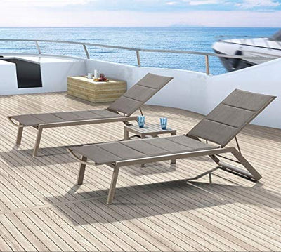 Sun Loungers Outdoor Chaise Lounge folding Chair