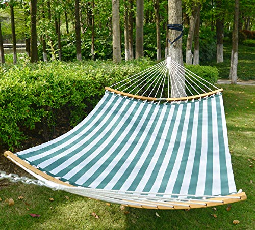 Patio Watcher 14 FT Quick Dry Spreader Bar Hammock: Green