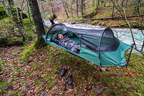 20cde36f205 Blue Ridge Camping Hammock Tent by Lawson Hammock Includes Rainfly and Bug  Net