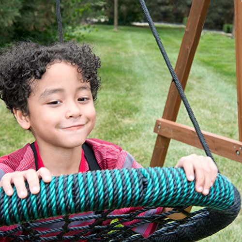 Swing-N-Slide Monster Web Swing: Black