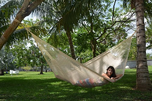 Mayan Family Size Hammock: Natural