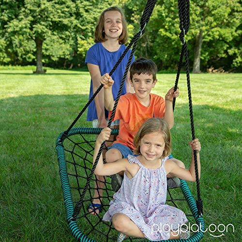Spider Web Tree Swing Rectangle