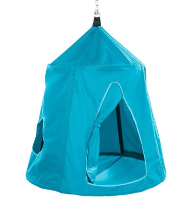 HugglePod Hangout Portable Hanging Tree Tent For Kids: Sky Blue