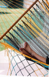 Spread Bar Hammock with Authentic Mexican Fabric