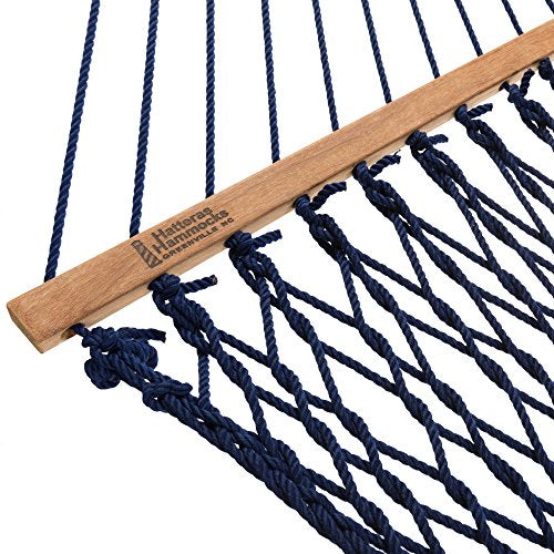 Hatteras Hammocks Deluxe DuraCord Rope Hammock [7 Colors]