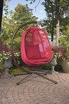 Hanging Egg Chair with Stand: Flower House Hanging Furniture