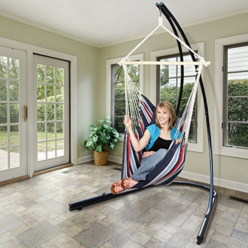 Hammock Chair Stand For Hanging Chairs Swings Loungers