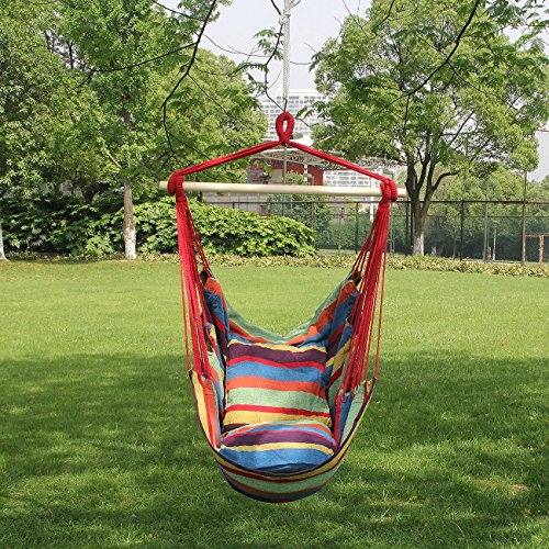 Hanging Rope Hammock Chair Swing Seat 5 Colors Hammock Town
