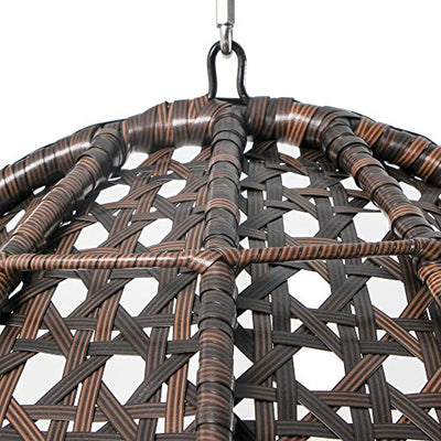 Outdoor Wicker Hanging Egg Chair
