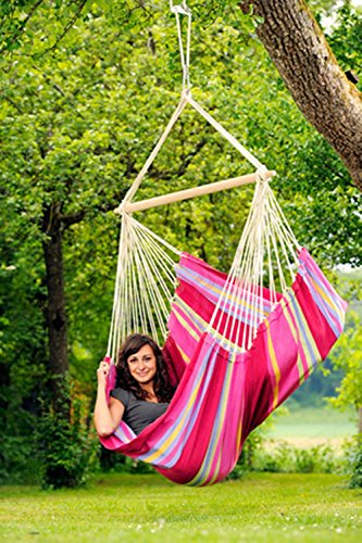 Brazilian Hammock Chair: Sorbet: Byer of Maine