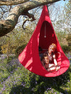 Single Cacoon Hammock: Chili Red