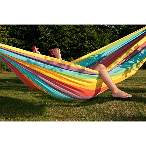 Machine Washable Child IRI Rainbow Pure Cotton Hammock