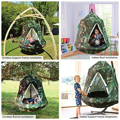 GARTIO Hanging Tree Tent, Swing Play House