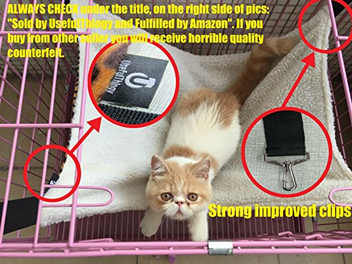 UsefulThingy Cat Hammock/Ferret, Rat, Rabbit, Small Dogs Or Other Pet