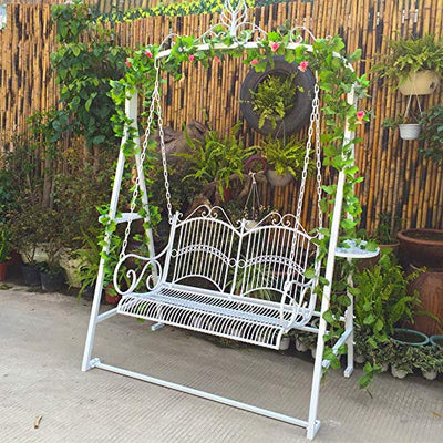 Outdoor Hanging Chair: Iron