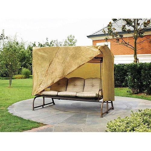 Outdoor 3 Triple Seater Hammock Swing Glider Canopy Cover