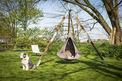 Bonsai Cacoon Hanging Tent in Taupe