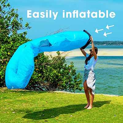 Icefox Inflatable Couch, Pool Floats, Inflatable Lounger