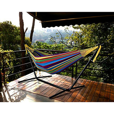 Pikakos Double Hammock with Stand for 2 Persons