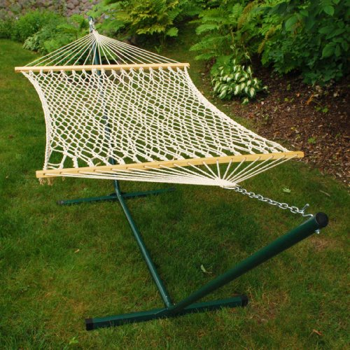 Rope Hammock and Stand Combo