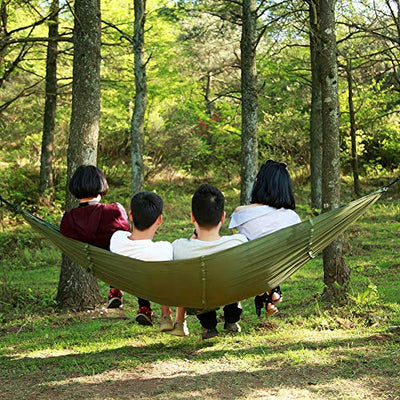 TOPCHANCES Camping Hammock with Mosquito Netting