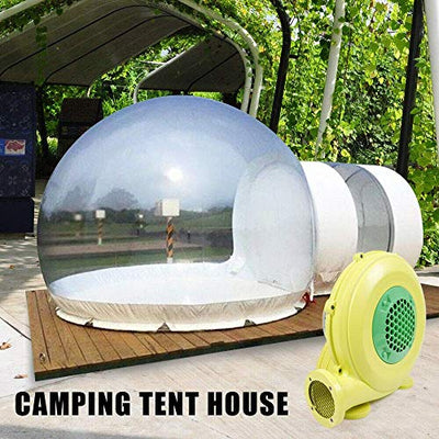3M Inflatable Commercial Grade Two Room PVC Clear Eco Dome Bubble Tent