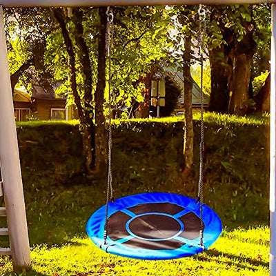 KINDEN Giant Saucer Spinner Swing Round: Blue