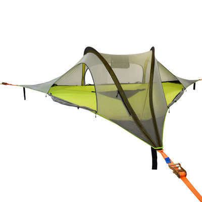 Tentsile Stingray 2020 Model 3 Person Portable Tree Tent: Dark Grey