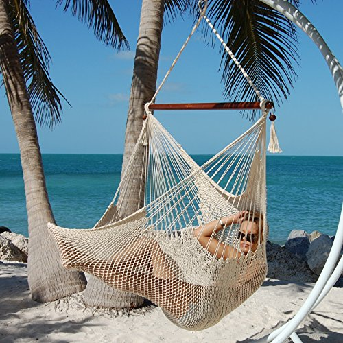 Caribbean Hammocks Large Chair | Cream