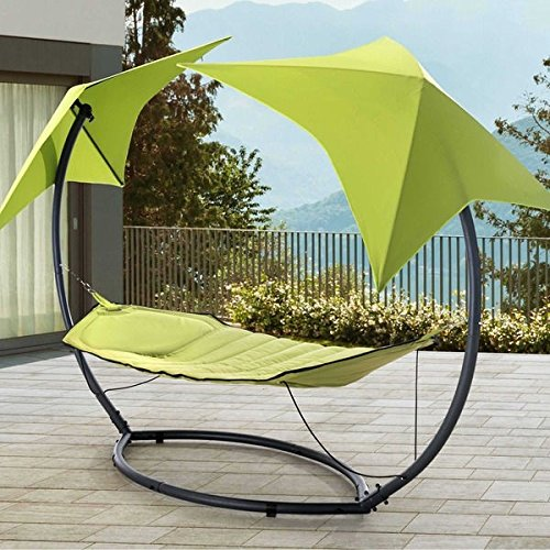 Modern Leaf Skylight Sturdy Steel Outdoor Hammock