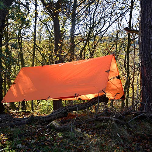 DD Tarp 3x3 - Sunset Orange (10ft x 10ft)