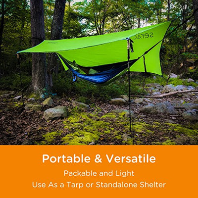 Serac Ultralight Hammock Rain Fly and Shelter