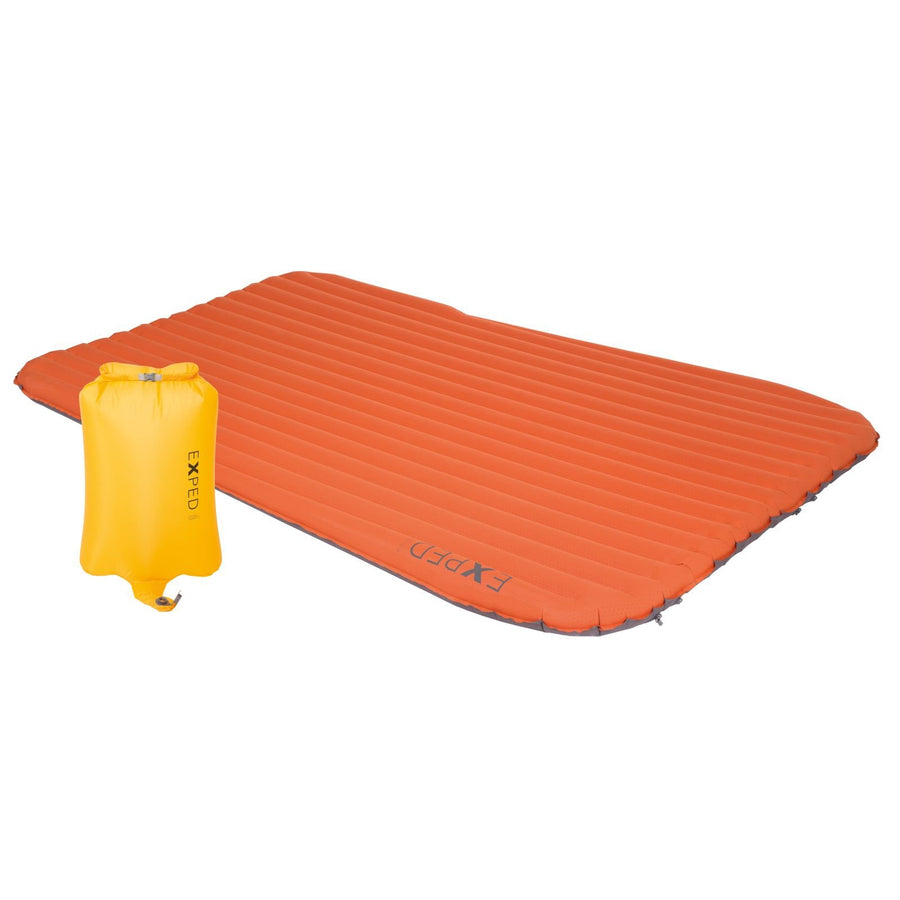Exped SynMat Duo Sleeping Pad, Terracotta: Long Wide
