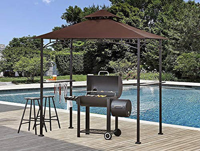 Grill Shelter Replacement Canopy Roof ONLY FIT for Gazebo Model