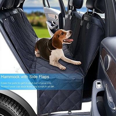 Dog Seat Cover Car Seat Cover for Pets Pet Seat Cover Hammock 600D Heavy Duty  Scratch Proof Nonslip Durable Soft Pet Back Seat Covers for Cars Trucks and SUVs