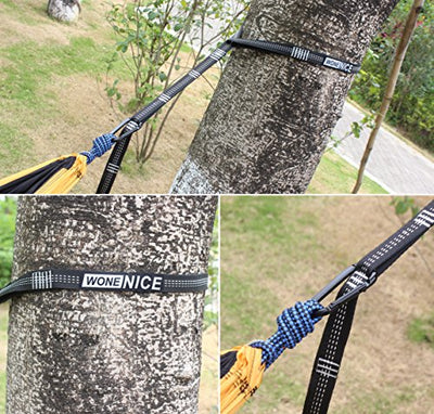 Hammock Straps with 2 Carabiners