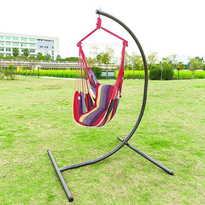 ONCLOUD Hanging Rope Hammock Chair Swing Seat