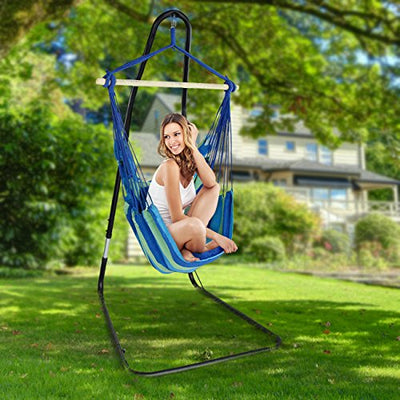 Hammock Chair Swing Seat with Stand | Sorbus