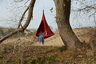 Bonsai Cacoon Kids Hanging Tent in Red