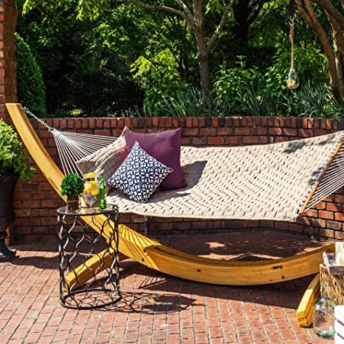 Hatteras Soft Weave Hammock: Antique Beige