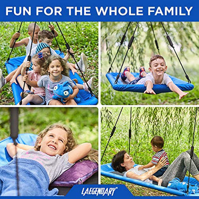 Giant Platform Tree Swing for Kids and Adults