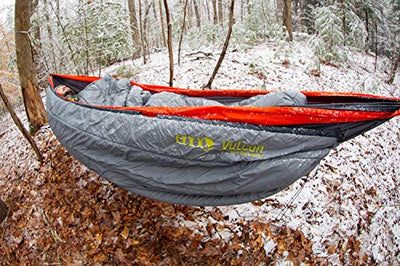 ENO, Eagles Nest Outfitters Vulcan UnderQuilt Water-Repellent Hammock Insulation, Storm